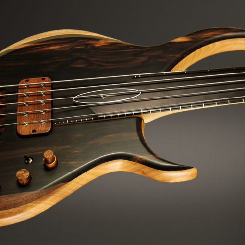 Aural II fretless 5 – Right-side