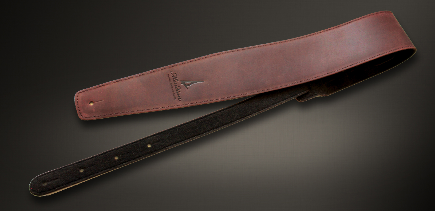 Meridian leather straps  brown