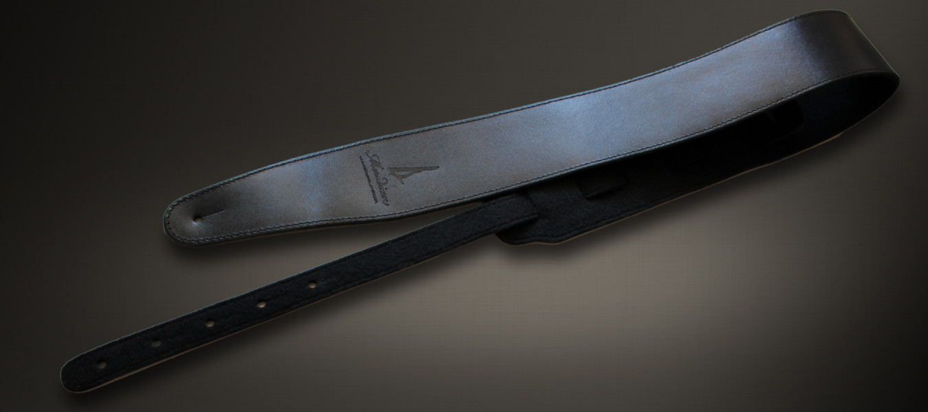 Meridian leather straps black